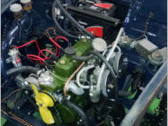 morris engine detail