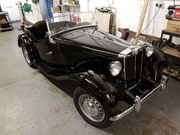 MG TD mkII front